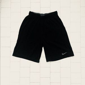 Men's Black Nike Dri-Fit Shorts with Pockets